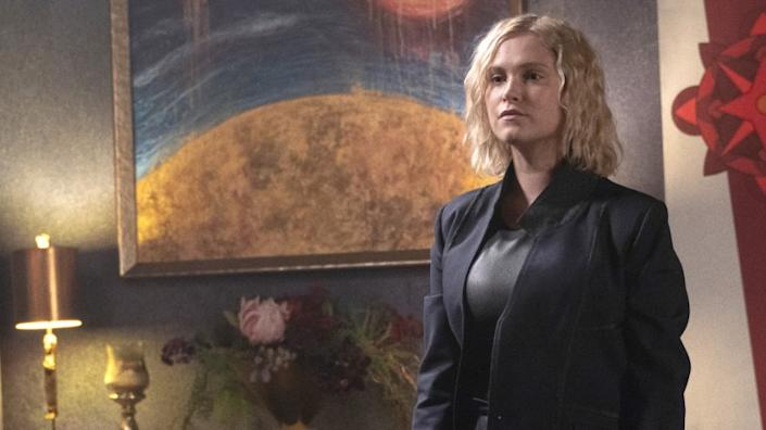 """Eliza Taylor in """"The 100"""" on The CW."""