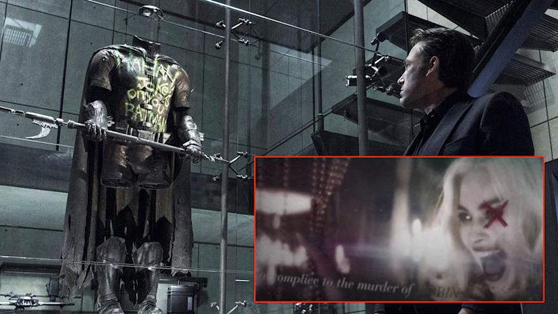 Was Harley there when Robin died? - Credit: Warner Bros.