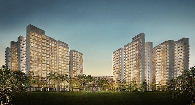 The Centrale 8 DBSS development in Tampines. (Yahoo! photo)