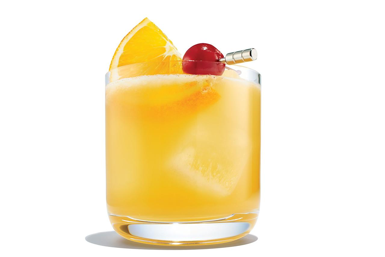 """There's a simple structure behind all sours, a family of citrus-based cocktails. <a rel=""""nofollow"""" href=""""https://www.epicurious.com/recipes/food/views/whiskey-sour-cocktail?mbid=synd_yahoo_rss"""">See recipe.</a>"""
