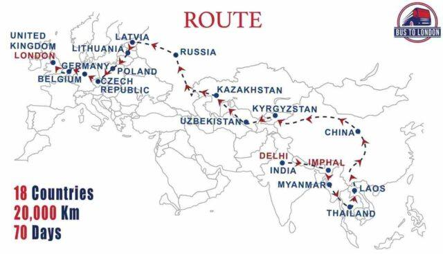70 Days, 18 Countries: This Bus Trip From Delhi To London Costs A Bomb