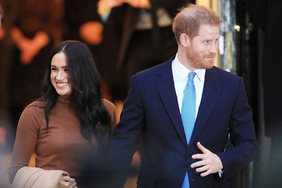 Meghan Markle and Prince Harry   Aaron Chown/PA Images via Getty