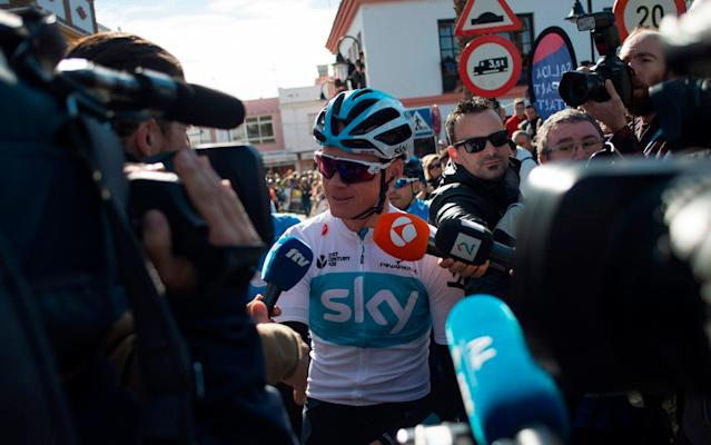 'I'm just asking for a fair process': Chris Froome confirms he plans to ride in this year's Giro d'Italia and Tour de France