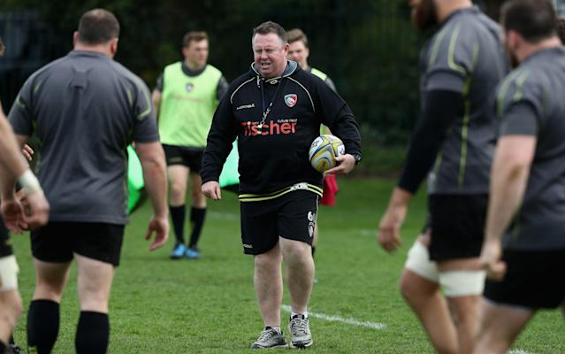 <span>Matt O'Connor is back at Leicester Tigers</span> <span>Credit: GETTY IMAGES </span>
