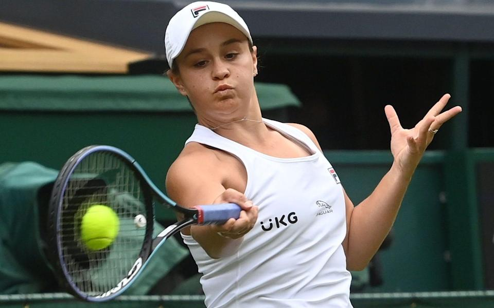 World No 1 Ash Barty is forced to work hard for her victory - SHUTTERSTOCK