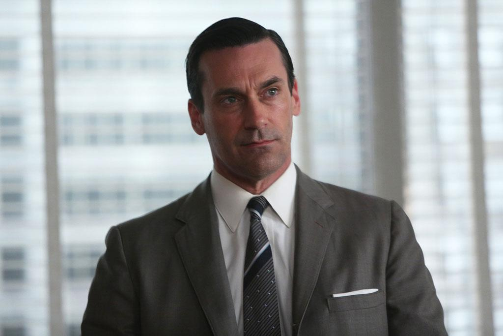 "Don Draper (Jon Hamm) in the ""Mad Men"" episode, ""A Tale of Two Cities."""