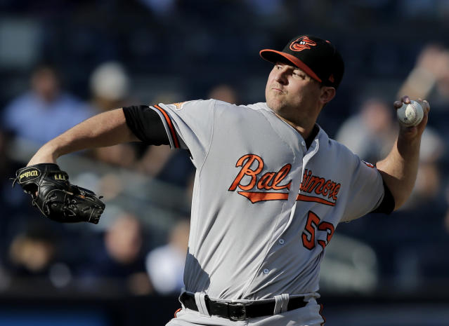 The Orioles might continue their tear down by getting rid of Zach Britton. (AP Photo)