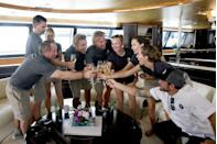 "<p>For a three day charter on <em>Below Deck</em>, the crew members earn anywhere from $2,000 to $2,500 each in cash. ""Our charters are a little bit shorter, just so we can make the show, [but] everything else is exactly the same. So, it's prorated,"" <em>Below Deck</em> chief stewardess Kate Chastain told <a href=""https://www.etonline.com/below-decks-kate-chastain-explains-how-yacht-tipping-actually-works-exclusive-134315"" rel=""nofollow noopener"" target=""_blank"" data-ylk=""slk:Entertainment Tonight"" class=""link rapid-noclick-resp"">Entertainment Tonight</a>. ""Anything less than $1,000 would be depressing, which sounds crazy, doesn't it?""</p>"