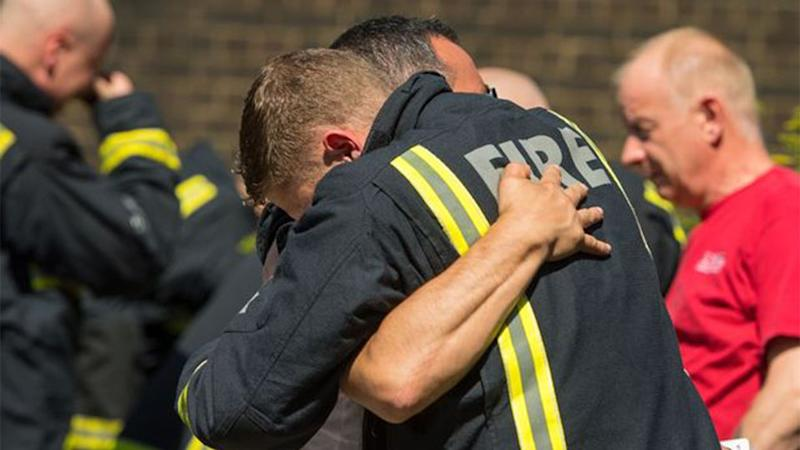 Firefighters have been gagged from discussing the horrific scenes they witnessed. Source: Getty Images
