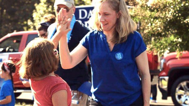 PHOTO: Abigail Spanberger, a congressional candidate, had a 12-year career with the CIA. (ABC News)