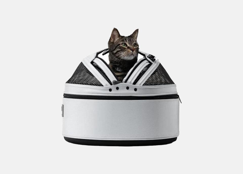 """<p>Multi-use functionality is key, and this pet carrier triples as a carrier, car seat, and mobile sleep solution. The design is perfect to help your pet cope with long road trips, plus it works as a super-cozy bed once you reach your destination. Ready to hit the road again? Zip the bed up its sides to transform it into a portable carrier.</p> <p><strong>Buy now:</strong> <a href=""""https://amzn.to/2CYcAwJ"""" rel=""""nofollow noopener"""" target=""""_blank"""" data-ylk=""""slk:$182, amazon.com"""" class=""""link rapid-noclick-resp"""">$182, amazon.com</a></p>"""