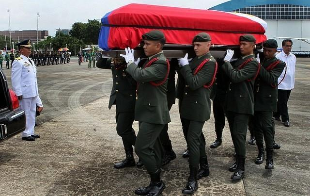 A hero's funeral