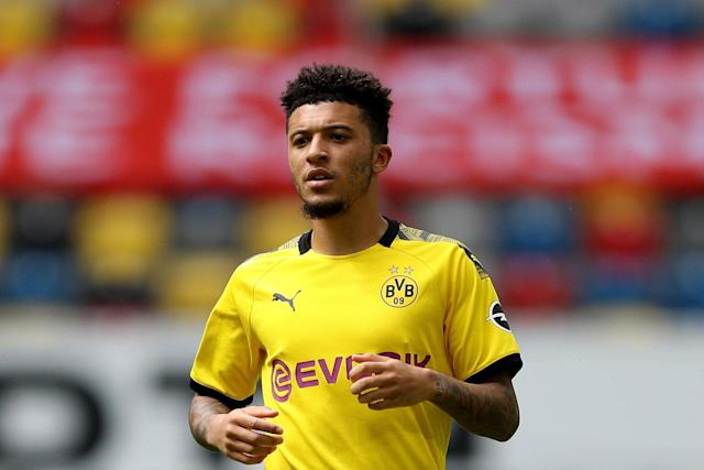 Sancho remains a top target. (Getty Images)