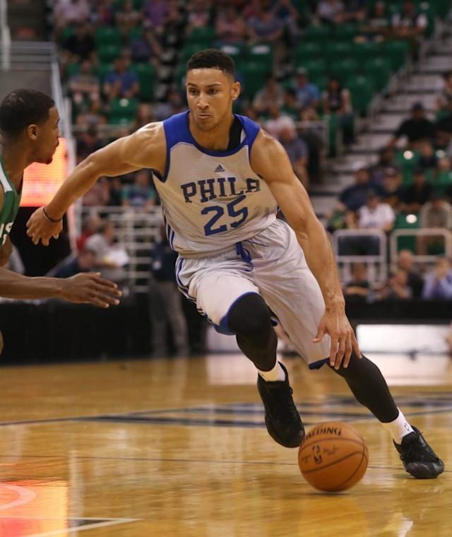 Simmons has point-guard skills in an imposing physical package. (AP)