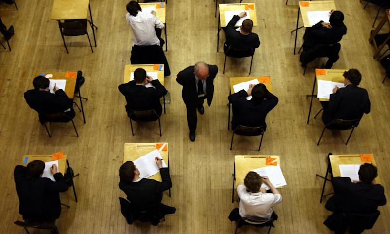Grammar schools funding warningFile photo dated 07/03/12 of pupils sitting an exam, as head teachers warned that grammar schools are considering asking parents for cash to make up budget shortfalls set to be caused by changes in funding. PRESS ASSOCIATION Photo. Issue date: Wednesday January 25, 2017. Families could be asked for £30 to £40 a month to ensure teaching standards do not fall, the Grammar School Heads Association (GSHA) has said. See PA story EDUCATION Funding. Photo credit should read: David Jones/PA Wire