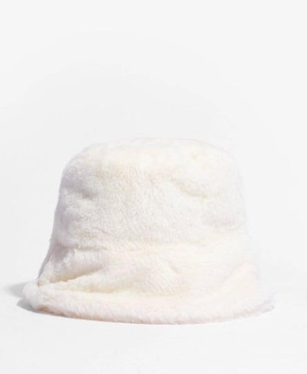 """<p>Add this <span>Nasty Gal Faux Fur Short Brim Bucket Hat</span> ($11, originally $20) to your cart ASAP if you're looking to <a href=""""https://www.popsugar.com/fashion/how-to-wear-the-y2k-fashion-trend-47792164"""" class=""""link rapid-noclick-resp"""" rel=""""nofollow noopener"""" target=""""_blank"""" data-ylk=""""slk:channel Y2K fashion"""">channel Y2K fashion</a> this summer.</p>"""