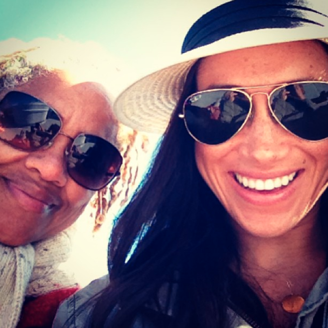 Meghan is also extremely close with her mother, Doria. Photo: Instagram