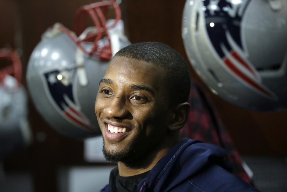 New England Patriots wide receiver Malcolm Mitchell played just one season in the NFL. (AP Photo/Steven Senne)