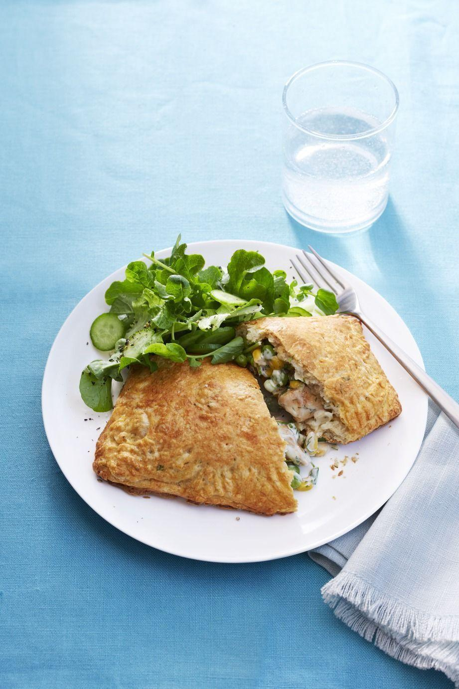 """<p>This comforting classic gets a handheld makeover with the addition of homemade biscuit dough.</p><p><em><a href=""""https://www.womansday.com/food-recipes/food-drinks/recipes/a54438/chicken-pot-pie-turnovers-recipe/"""" rel=""""nofollow noopener"""" target=""""_blank"""" data-ylk=""""slk:Get the recipe from Woman's Day »"""" class=""""link rapid-noclick-resp"""">Get the recipe from Woman's Day »</a></em></p>"""