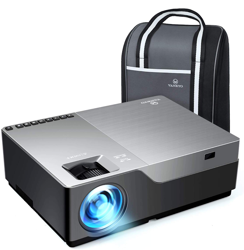This HD projector has a 4.5 out of five-star review rating. (Photo: Amazon)