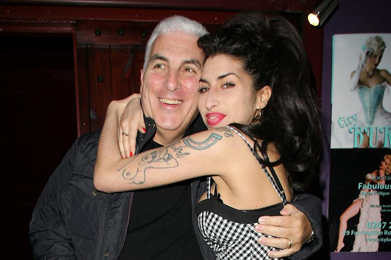 Father and daughter: Mitch Winehouse missed Amy 'every day': Fred Duval/FilmMagic