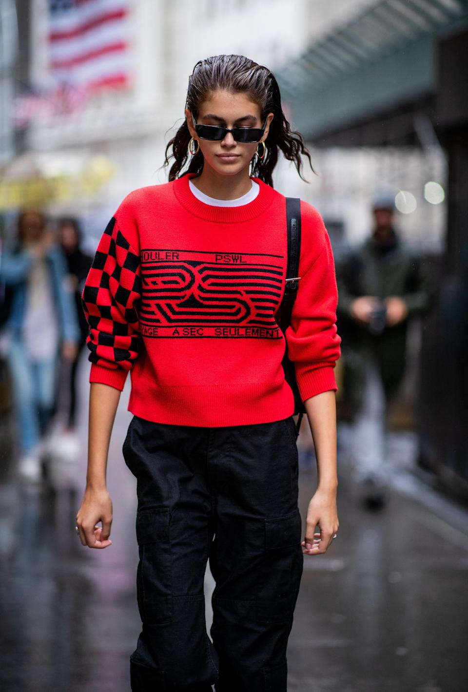 Red (and Proenza Schouler) all over.