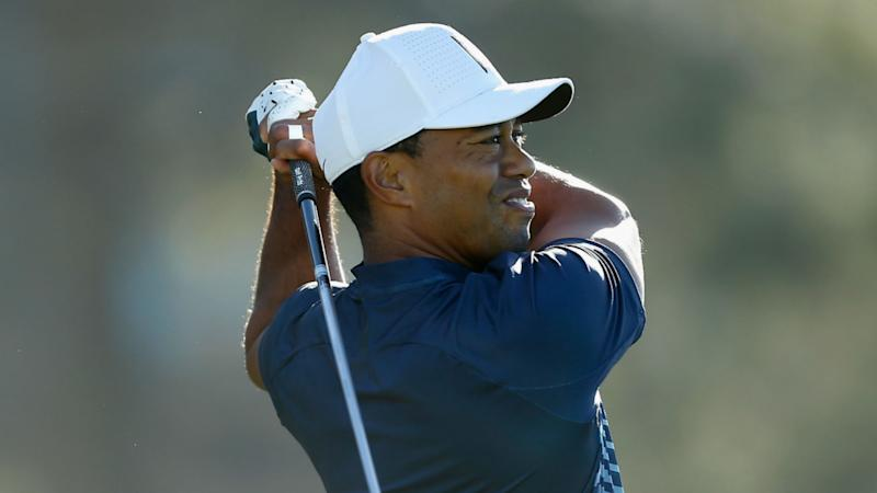 Woods one-over by way of 9 at Torrey Pines