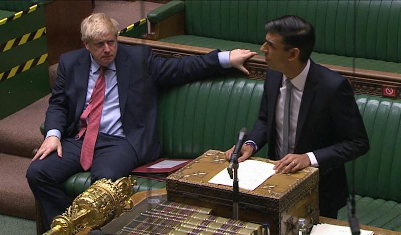 Chancellor of the Exchequer Rishi Sunak delivers a summer economic update in a statement to the House of Commons, London.