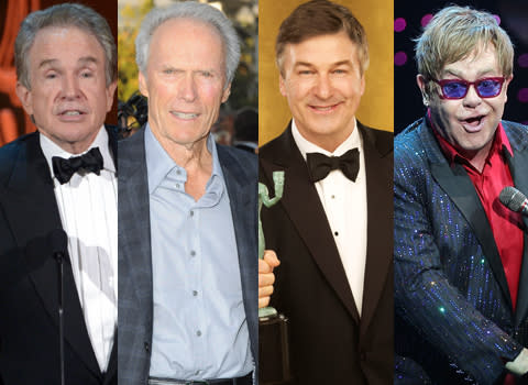 <p>These stars might be getting on in year but it hasn't stopped them from expanding their families, after all age is just a number, right? Check out some of Tinseltown's oldest Dads...</p>