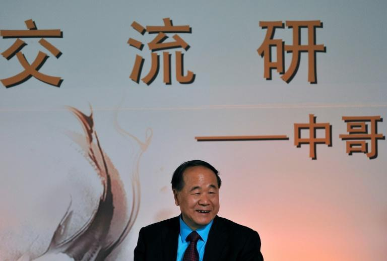 The most recent laureate who was neither European nor American was China's Mo Yan, back in 2012 (AFP/GUILLERMO LEGARIA)