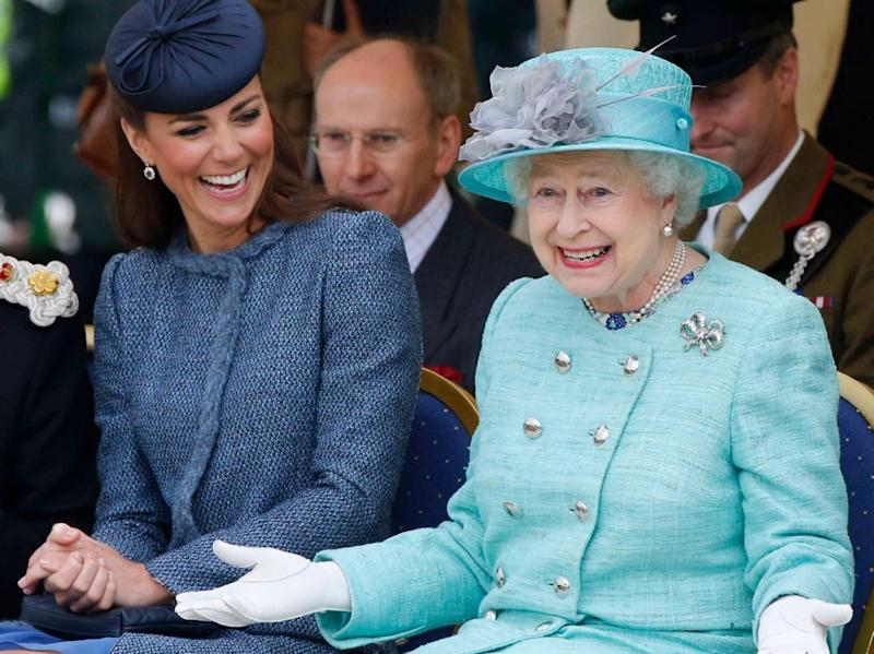 The Queen has given Kate the ultimate seal of approval. Photo: Getty