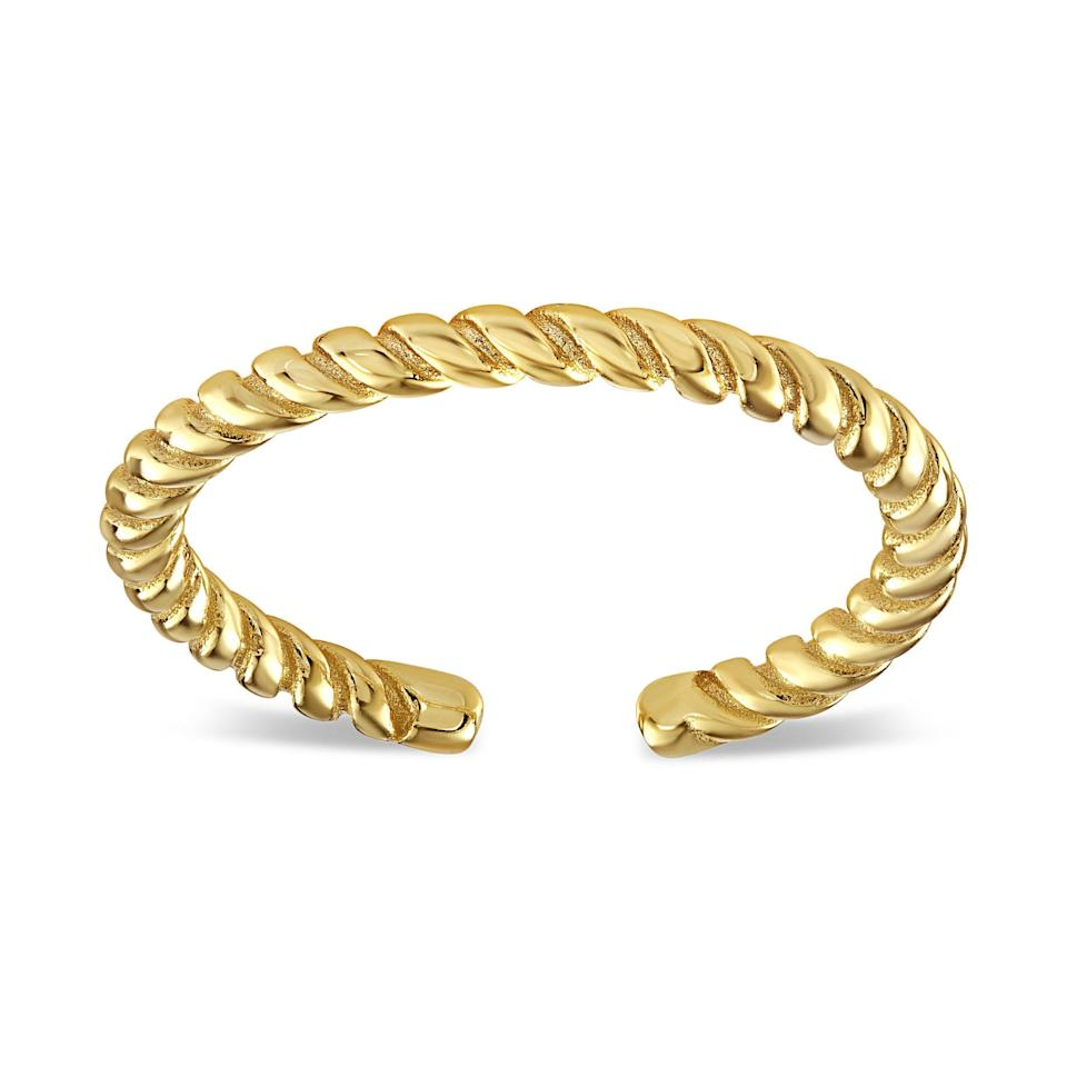 """<p>xiobyylette.com</p><p><strong>$38.00</strong></p><p><a href=""""https://xiobyylette.com/collections/rings/products/minimal-twist-ring"""" rel=""""nofollow noopener"""" target=""""_blank"""" data-ylk=""""slk:Shop Now"""" class=""""link rapid-noclick-resp"""">Shop Now</a></p><p>XIO by Ylette offers both a jewelry subscription box and individual pieces for purchase, but for the purposes of holiday gifting, we suggest this simple but elegant twist ring, which is really on trend at the moment and goes with almost any look. </p>"""