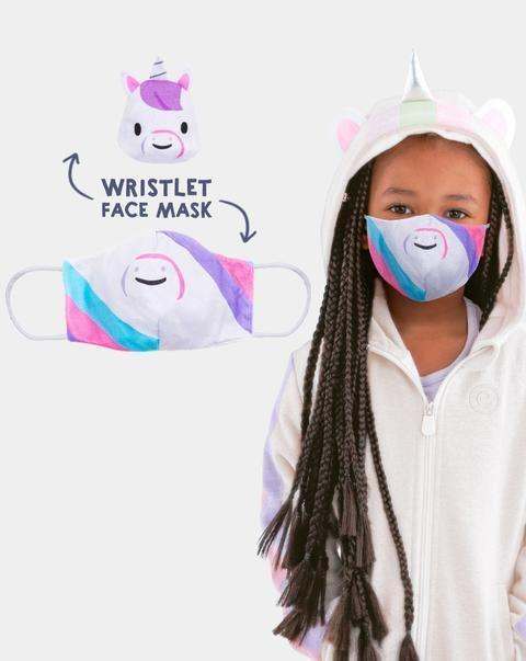 """<p><strong>Cubcoats</strong></p><p>cubcoats.com</p><p><strong>$12.99</strong></p><p><a href=""""https://cubcoats.com/collections/face-masks/products/mask-buddies"""" rel=""""nofollow noopener"""" target=""""_blank"""" data-ylk=""""slk:Shop Now"""" class=""""link rapid-noclick-resp"""">Shop Now</a></p><p>Parents have flocked to Cubcoats for <a href=""""https://www.amazon.com/dp/B087SLP95V?tag=syn-yahoo-20&ascsubtag=%5Bartid%7C10055.g.32605019%5Bsrc%7Cyahoo-us"""" rel=""""nofollow noopener"""" target=""""_blank"""" data-ylk=""""slk:their soft, breathable face masks"""" class=""""link rapid-noclick-resp"""">their soft, breathable face masks</a> featuring animals. But Cubcoats' newer Mask Buddy wristlet makes taking an extra face mask (if you plan to take a mask break or change masks altogether) so much easier.</p>"""