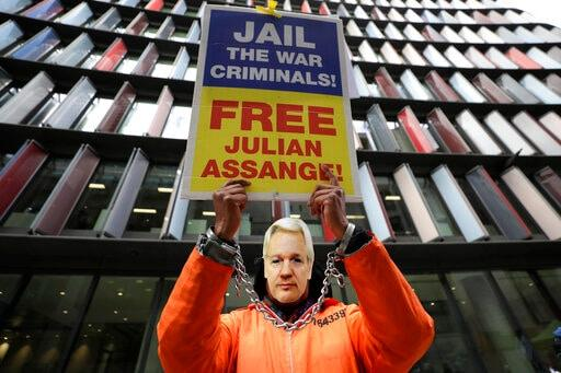 Assange To Hear Judge's Verdict On US Extradition On Jan 4