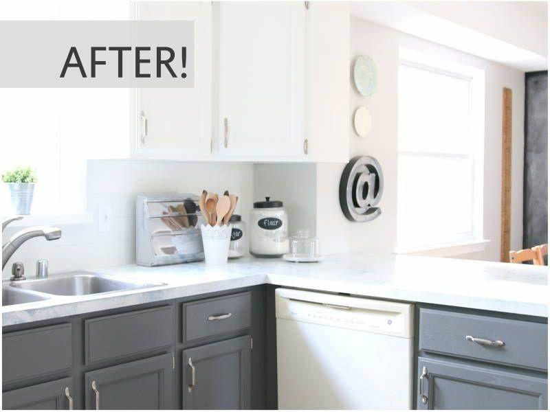"""<p>Believe it or not, that is the same space. We think Chip and Joanna would approve!</p><p><strong>Get the tutorial at <a href=""""http://allthingswithpurpose.com/2016/02/my-fixer-upper-inspired-kitchen-reveal/"""" rel=""""nofollow noopener"""" target=""""_blank"""" data-ylk=""""slk:AllThingsWithPurpose.com"""" class=""""link rapid-noclick-resp"""">AllThingsWithPurpose.com</a>.</strong></p><p><strong><a class=""""link rapid-noclick-resp"""" href=""""https://www.amazon.com/s?i=aps&k=white+paint&ref=nb_sb_noss_2&url=search-alias%3Daps&tag=syn-yahoo-20&ascsubtag=%5Bartid%7C2139.g.34085615%5Bsrc%7Cyahoo-us"""" rel=""""nofollow noopener"""" target=""""_blank"""" data-ylk=""""slk:SHOP WHITE PAINT"""">SHOP WHITE PAINT</a><br></strong></p>"""