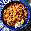 <p>Satisfy your Mexican-food craving with this healthy recipe. Just dump all your ingredients into an electric multicooker, such as the Instant Pot, in this easy recipe for flavorful arroz con pollo.</p>