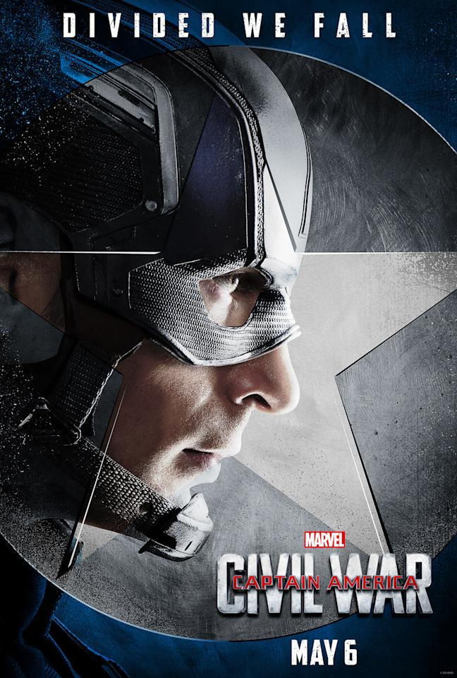"""<p>Despite the huge cast, Cap will be the focus of the film, star Chris Evans promises. """"It's exciting to see a guy who's as optimistic and as selfless as Steve be met with letdown, betrayal, frustration, and selfishness,"""" Evans told <a href=""""https://www.yahoo.com/movies/chris-evans-promises-captain-america-civil-war-175624149.html""""><i>Disney twenty-three magazine</i></a>. <br /></p>"""