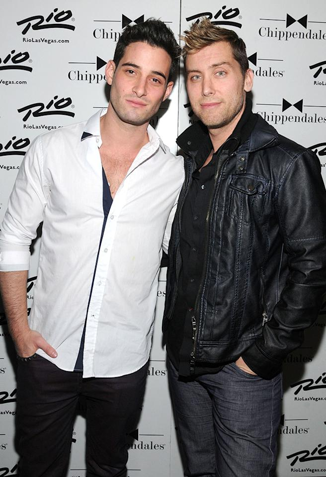 "*NSYNC member Lance Bass, 34, has nothing but love for 26-year-old actor and model Michael Turchin. ""We don't fight at all,"" Bass told <a href=""http://gossipdavid.com/2013/05/10/lance-bass-michael-turchin-kentucky-derby-moet-chandon/"" target=""_blank"">gossipdavid.com</a> in May. ""We just understand each other. And we trust each other. And I think that's what it's all about. Trust."""