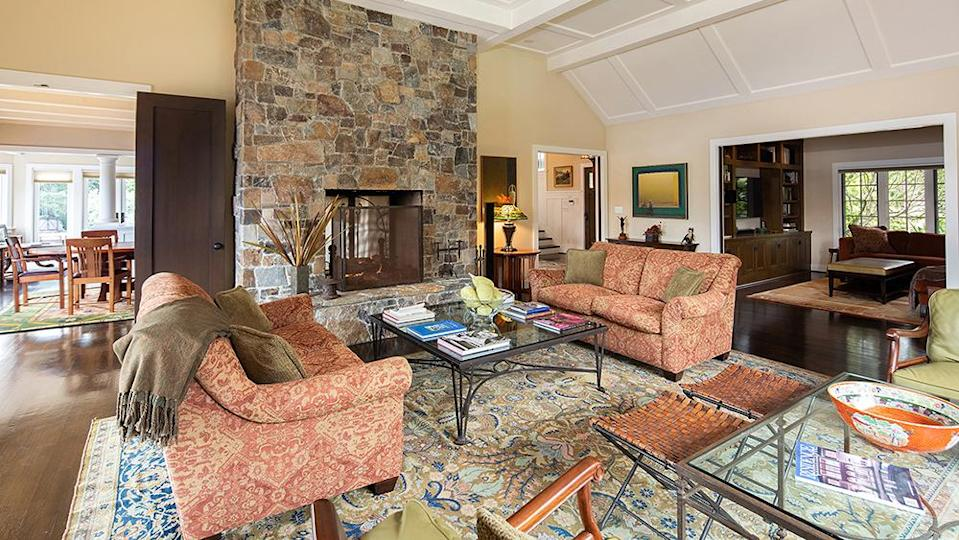 One of the sitting areas. - Credit: Photo: Sherman Chu/Sotheby's International Realty