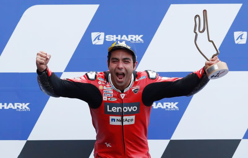 Petrucci braves wet conditions to win French Grand Prix