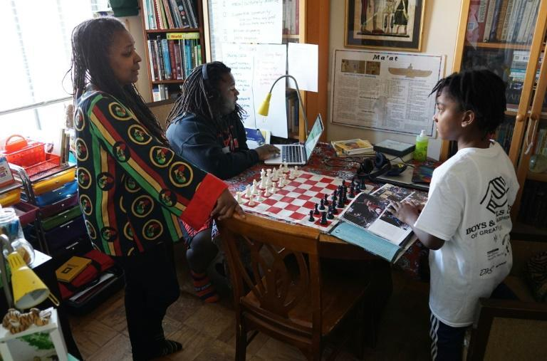 Monica Utsey, and her children belong to a growing group of African-American homeschoolers, families dissatisfied with traditional education