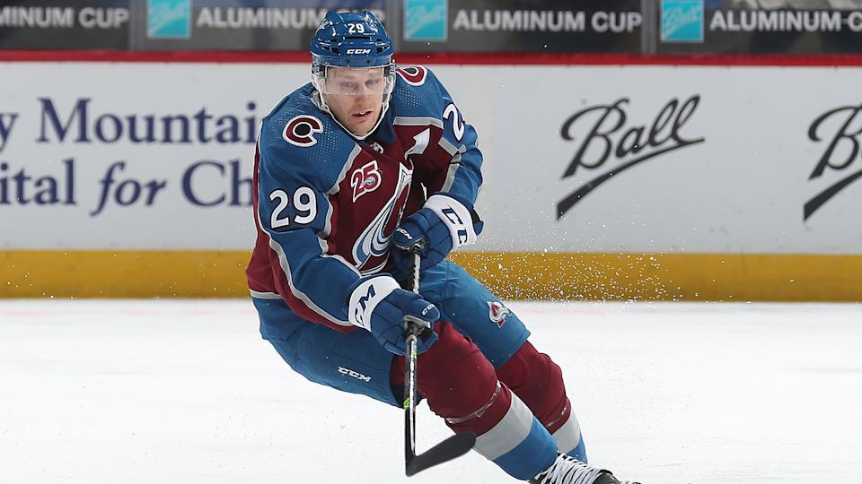 Nathan MacKinnon and the explosive Colorado Avalanche are a joy to watch. (Michael Martin/NHLI via Getty Images)