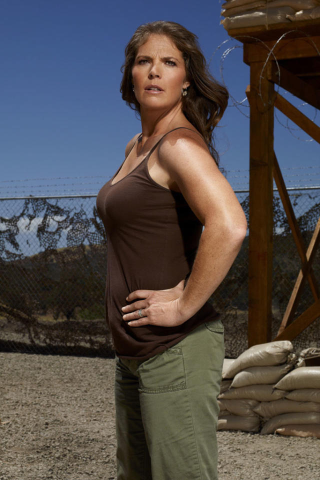 "Olympic gold medalist Picabo Street competes on NBC's ""Stars Earn Stripes."""