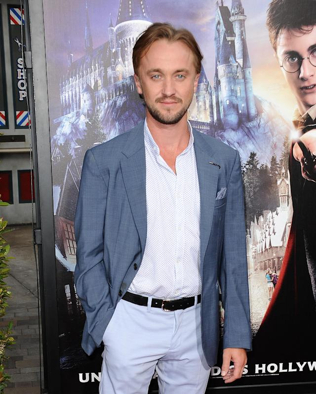 "<p>The<em> Harry Potter</em> actor gets hit on by tons of women, all over the globe — and on social media. He is, after all, an international heartthrob. Once, after tweeting ""Goodnight from my bed in London,"" someone replied, ""Do you mind if I Slytherin?"" Pun intended — and points for creativity! (Photo: Getty Images) </p>"