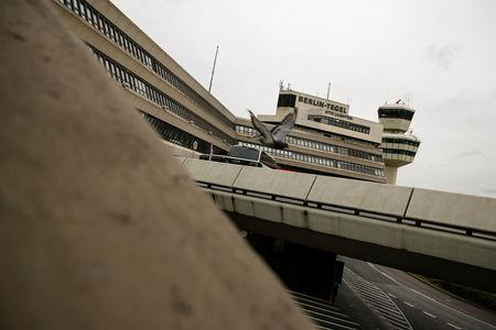 The main building and tower of Tegel Airport seen in Berlin, Germany, September 14, 2017.    REUTERS/Axel Schmidt