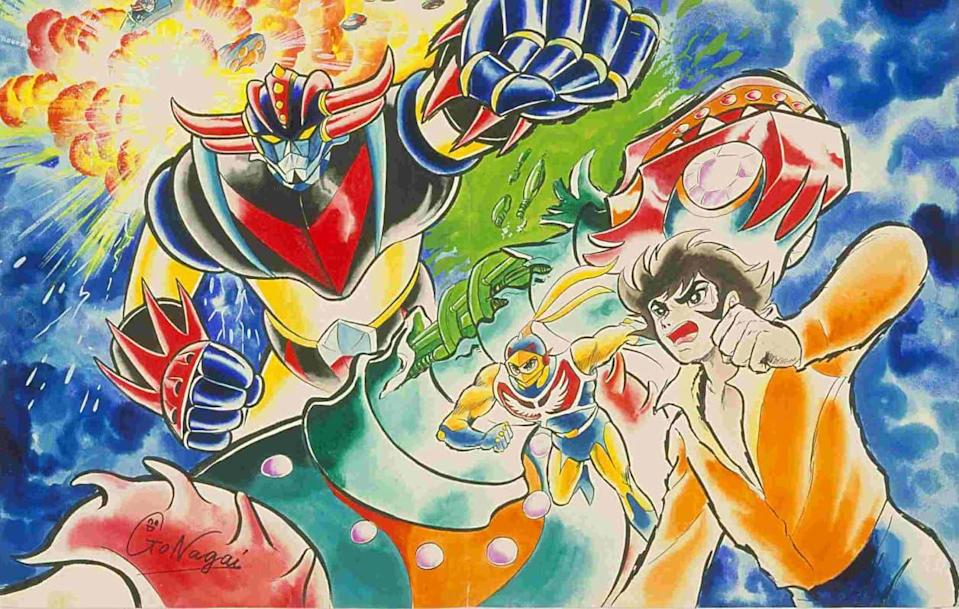 Goldorak - Copyright Go Nagai - Dynamic Planning