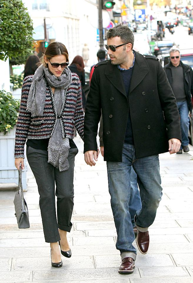 "Ben Affleck and Jennifer Garner are in love in Paris. They did shopping Avenue Montaigne. They went ton Chanel store, Dior store and Bon Point store.They are in Paris to promote Ben affleck's last film ""Argo"".