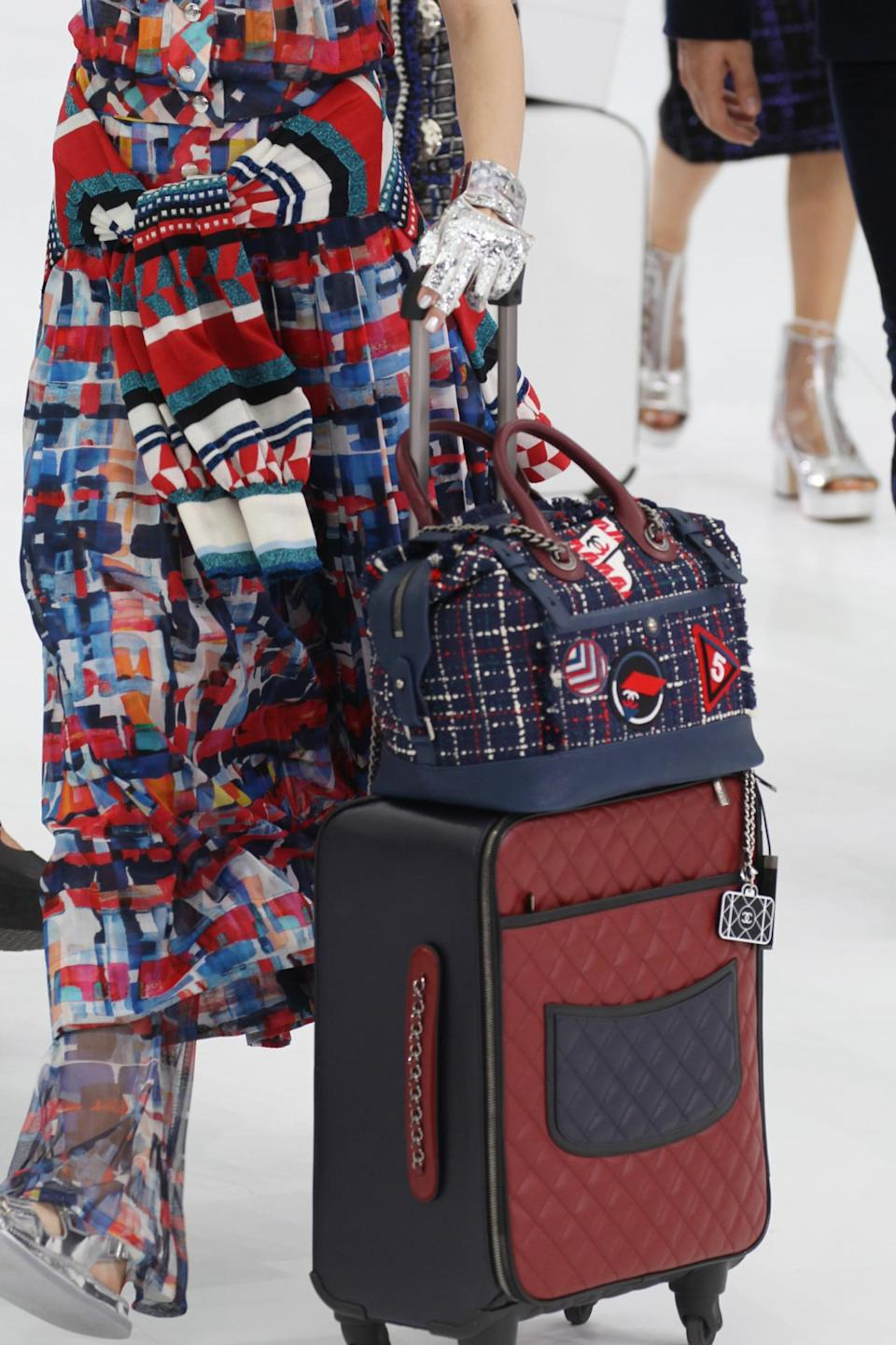 <p>If you can stock up on Chanel luggage this spring, the extra baggage fees probably won't be a big deal. <i>(Photo: Getty Images)</i></p>