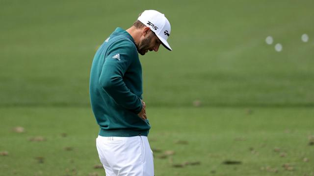 World number one Dustin Johnson will not play at the Masters after succumbing to a back injury.