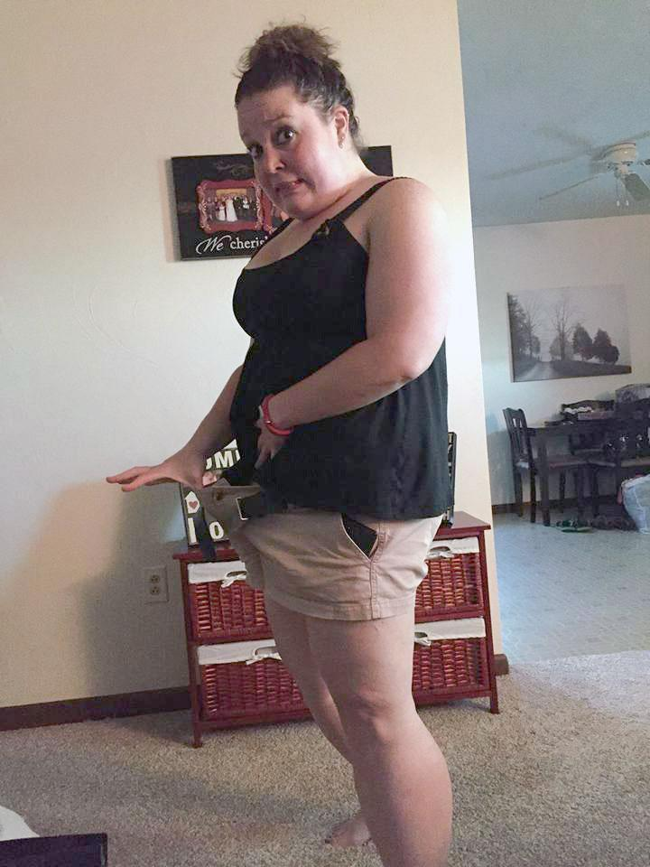In the first year, SanBoeuf lost more than 100 pounds. (Photo: Courtesy of Eden SanBoeuf)